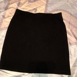 Forever 21 Skirts - Black zipper skirt forever 21